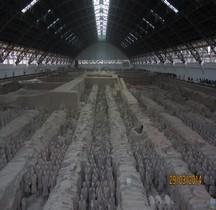 Chine Xian Mausolée de l'empereur Qin Soldats Terre Cuite
