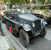 Sd.Kfz 10 leichter Zugkraftwagen  mit 1t Belgique