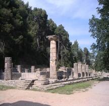 Elide Olympie Temple d'Héra