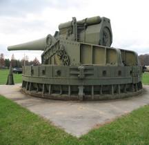 Canon Défense Cotière 16 inch 50 caliber M1919 gun Coastal Defense  Aberdeen