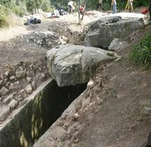 Bouches du Rhone Fontvieille Hypogees Hypogée du Castelet