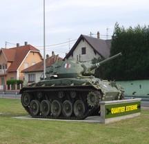 Char léger M 24 Chaffee Haguenau