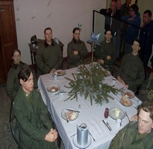Bastogne Barracks  PC General McAuliffe Repas Noël