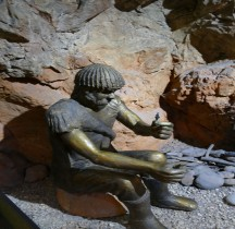 Ligurie Ventimille Grimaldi  Grottes des Balzi Rossi  Barma Grande Menton