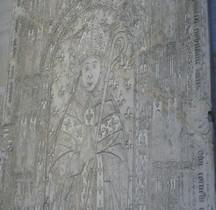 Seine St Denis St Denis Basilique.Antoine de la Haye Abbe 1505