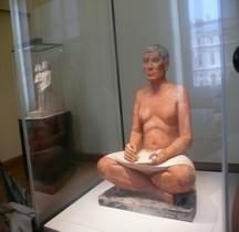 2 Egypte Statuaire Scribe Accroupi Paris