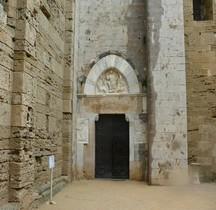 Hérault Villeneuve lès Maguelones Cathédrale Saint-Pierre-et-Saint-Paul