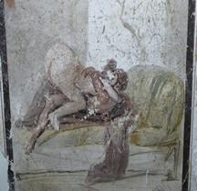 Fresque Rome Italie Couple Pompéï Naples