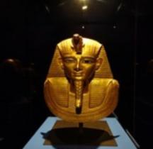 Egypte Masque Funeraire  Psousennès Ie  Tanis le Caire