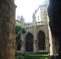 Aude Narbonne Cathédrale Saint-Just-et-Saint-Pasteur Cloitre