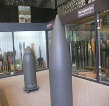 Morser 54 cm Ziu-Gerät 041 Leichte Betongranate Overloon