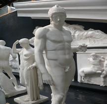 Statuaire Panthéon Ares Borghèse Paris Louvre  Copie Montpellier