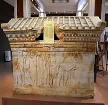 Grèce Sarcophage de Polyxène  Çanakkale Turquie