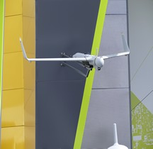 Aeronautics Defense Drone Orbiter 1K Le Bourget 2017