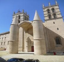 Hérault Montpellier  Cathéddrale St Pierre Extérieur