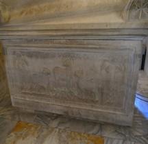 Ravenne Mausolée de Galla Placidia Sarcophage Constance III
