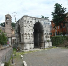 Rome Rione Ripa Arc de Janus ou  Janus Quadrifrons