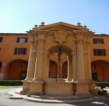 Bologna Palazzo d'Accursio Cour Cisterna del Terribilia