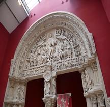 Yonne Vezelay Basilique St Marie Madeleine Portail Copie Paris