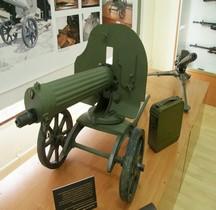Mitrailleuse Maxim modèle 1910 Carthagène