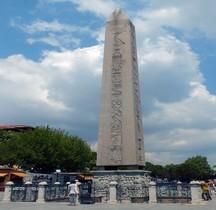 Turquie Istanbul Hippodrome Obélisque de Théodose