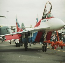 MiG 29 Fulcrum  Russian Swifts Le Bourget  2007