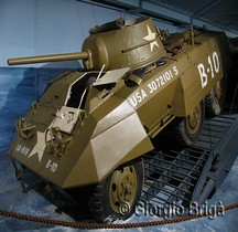 M8 Light Armored Car Greyhound Italie