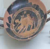 Etrurie Céramique Kylix Diomede Hercule Marzabotto