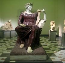 Statuaire Rome Apollo Citaredo -Dea Roma Farnèse Naples