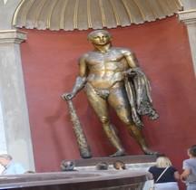 Statuaire Divinités Rome Ercole Teatro Pompee  Museii Vaticani