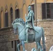 Statuaire Renaissance Statua equestre di Cosimo I de' Medici Florence