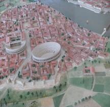 Bouches du Rhone Arles Amphithéatre Maquette