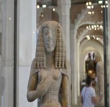 Statuaire Grèce Crete Dame Auxerre Paris Louvre