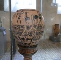 Etrurie Céramique Dinos Peintre à la Gorgone Louvre