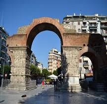 Macédoine Thessalonnique Arc de Galère