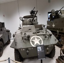 M8 Light Armored Car Greyhound Strasbourg