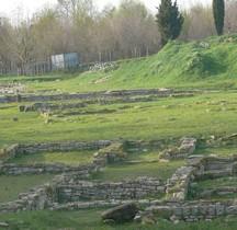Hérault Villetelle  Ambrussum Quartiers Bas