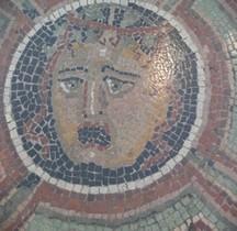 Mosaïque Rome France Nimes Mosaïque  à la Gorgone