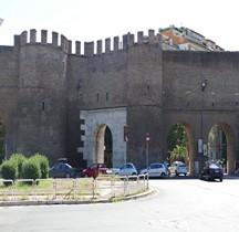 Rome Mura del URBS Rome Mura Aureliane Rione Luodivisi  Porta Pinciana