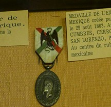 1863 Médaille Commémorative  Expédition du Mexique Salon