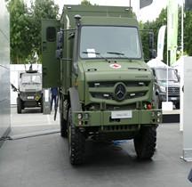 Unimog U 4023 Ambulance Eurosatory2018