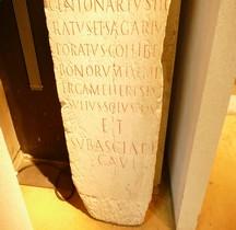 Rome Stèle Funéraire Fabricant de Sayons (Cucullus) Lyon