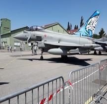 EF 2000 A Typhoon XIIe Gruppo Caccia Orange 2019