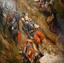 Peinture XIXe Paris Invalides Bataille Champigny Edouard Detaille