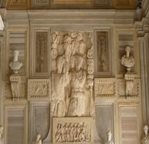 Pouvoir Tropaeum Trophée Romain Bas relief Rome Villa Borghèse