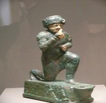 Mésopotamie Babylone 1 Paléo Babylonien Amorites Larsa Religion Adorant Larsa Paris  Louvre