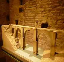 Estramadura Alcantara Pont de Trajan Maquette Rome EUR