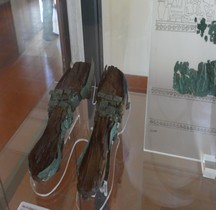 Vetements Tyrrhenica sandalia Sandales Bois et Bronze SCV