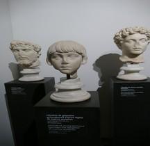 Statuaire 4 Empereurs 5.0 Annia Aurelia Galeria Lucilla Enfant Rome Museo Palatino