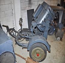 Projecteur 60cm Flakscheinwerfer Flak-Sw 36  60cm  Stromaggregat